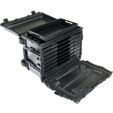 0450ND Case, No Drawers, No Foam, Black