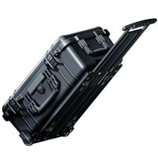 1510 Maleta Peli Carry on Case con espuma negra