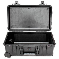 1510 Maleta Peli Carry On Case,sin espuma, Negra