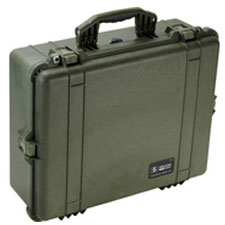 1600 Case No Foam, OD Green