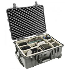 1650 Case, With Dividers, Black