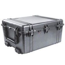 1690 Case W/Dividers, Black